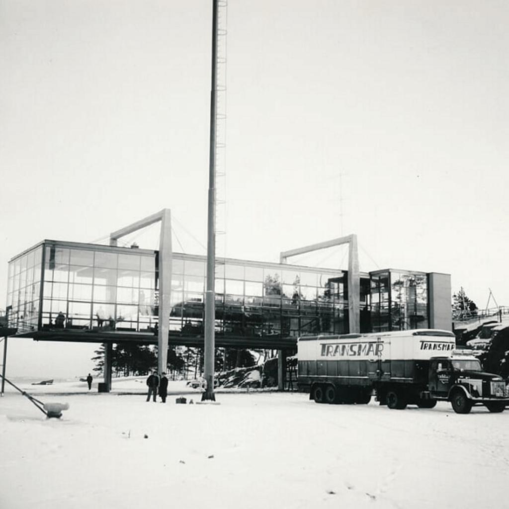 Långnäs 1960-luvulla