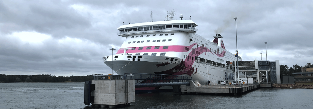 Baltic Princess Maarianhaminassa 2019