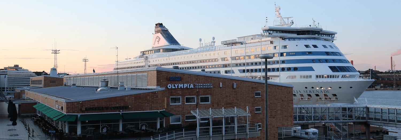 Silja Serenade Helsingissä 2020