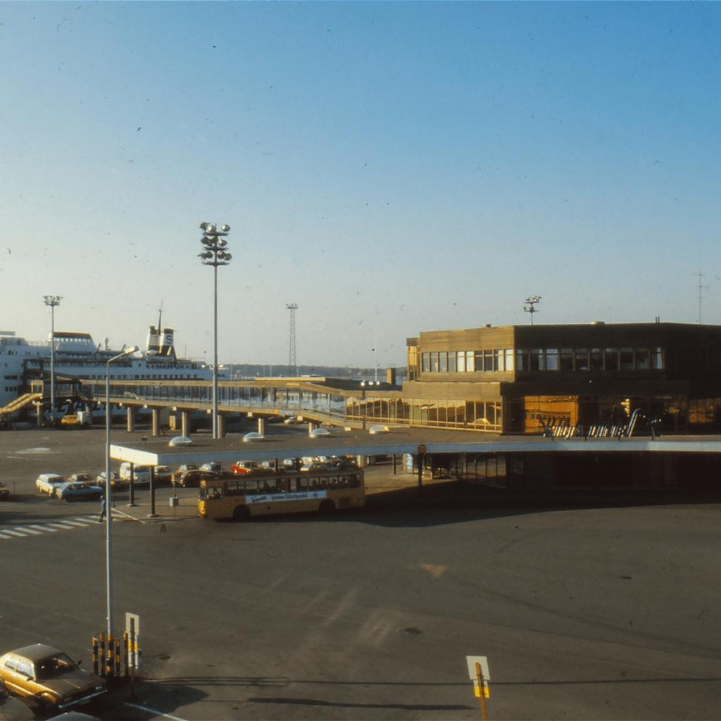 Turun satama 1970-luvulla