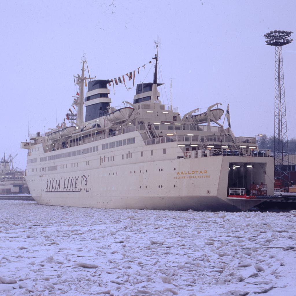 Aallotar Helsingissä 1972