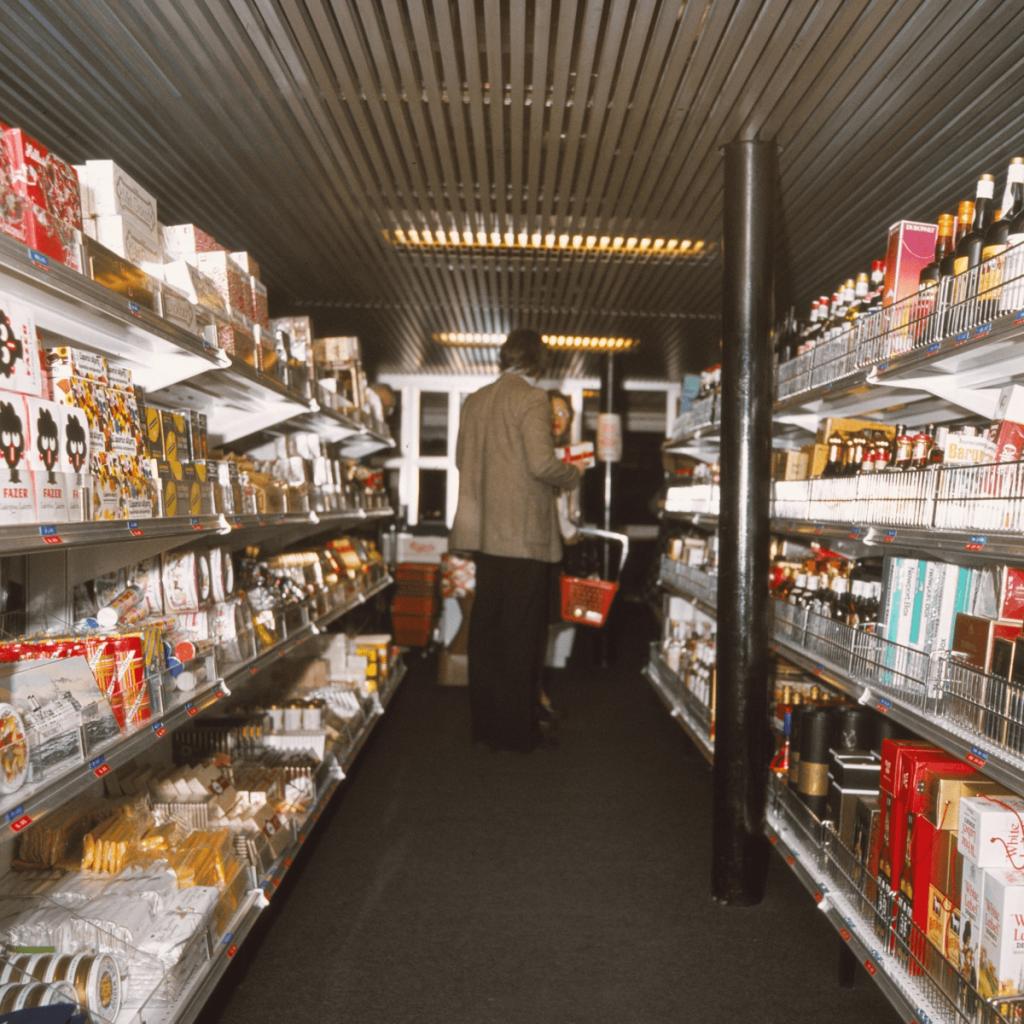 Svea Regina - Myymälä