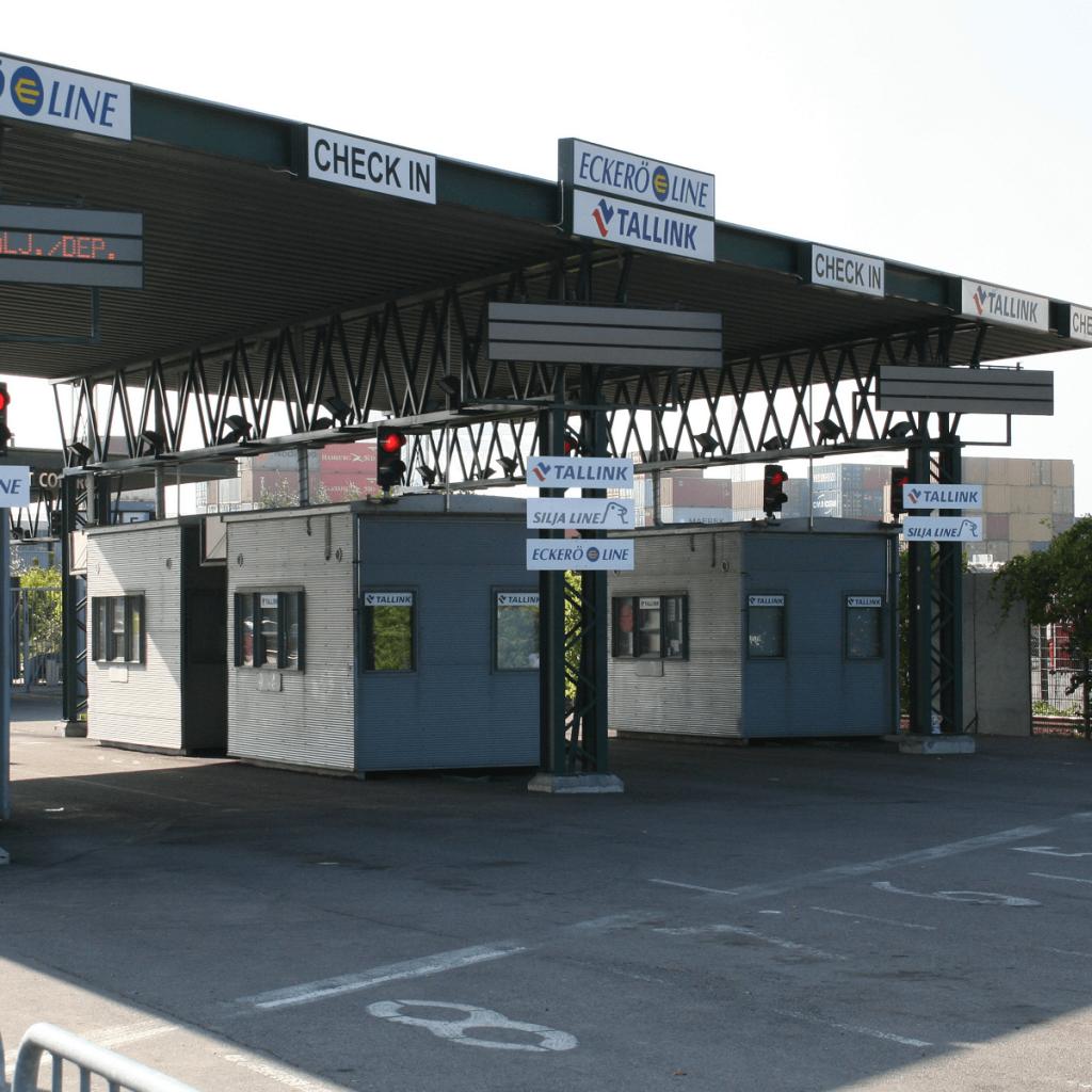 Länsisataman autolähtöselvitys 2006