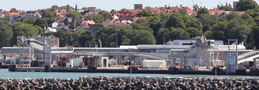 Visby satama 2012
