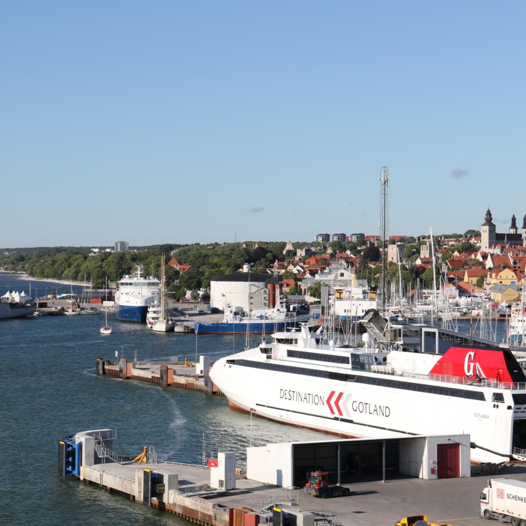 Visby kesällä 2016